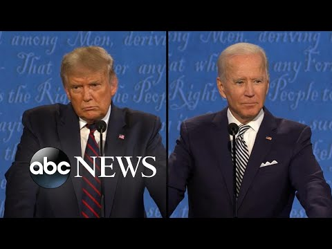 Trump and Biden address ballots and voting integrity