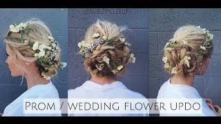 TUTORIAL | Prom/Wedding Braided Flower Up-do Inspired by Dolce & Gabbana Runway