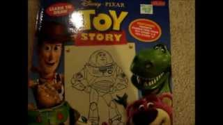 How to draw toy story book review
