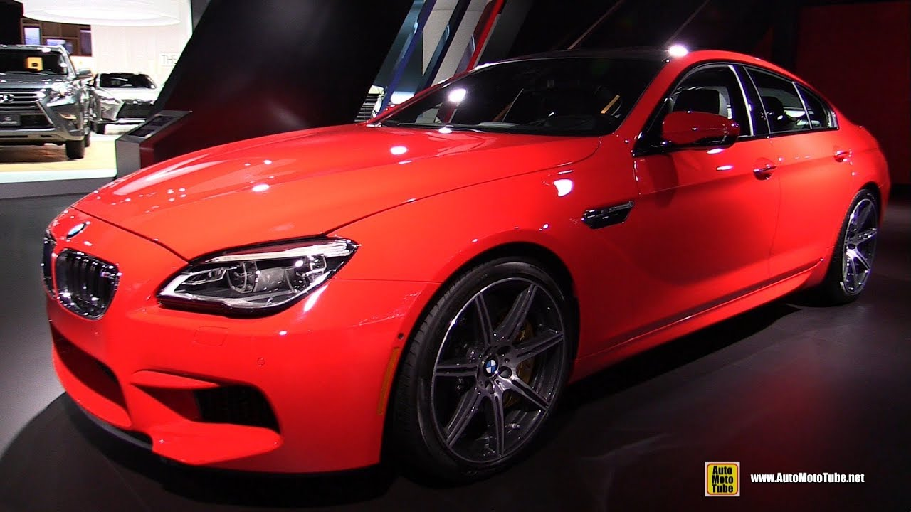 2018 bmw m6 exterior and interior walkaround 2017 la auto show youtube. Black Bedroom Furniture Sets. Home Design Ideas