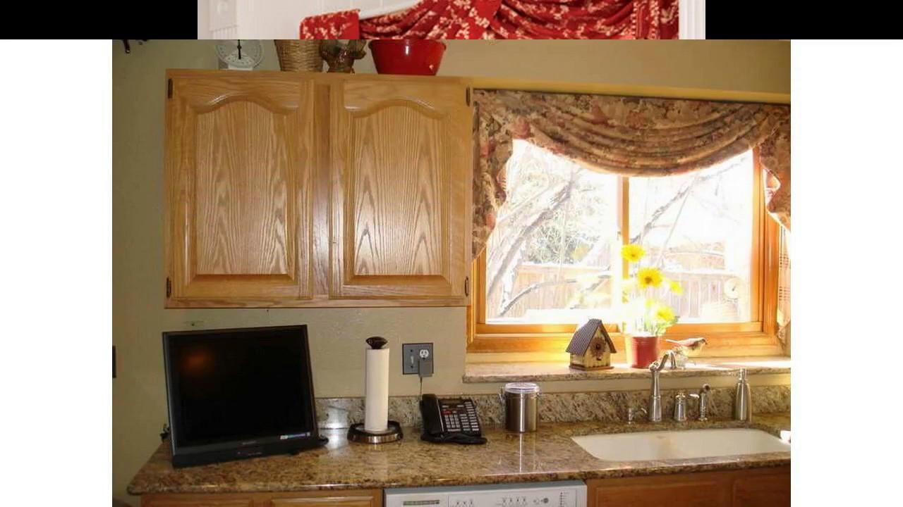 Ideas de dise o de cortina ventana de la cocina youtube for Disenos de cortinas para cocina