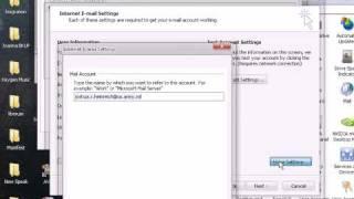 How to setup Outlook for AKO's POP3 server