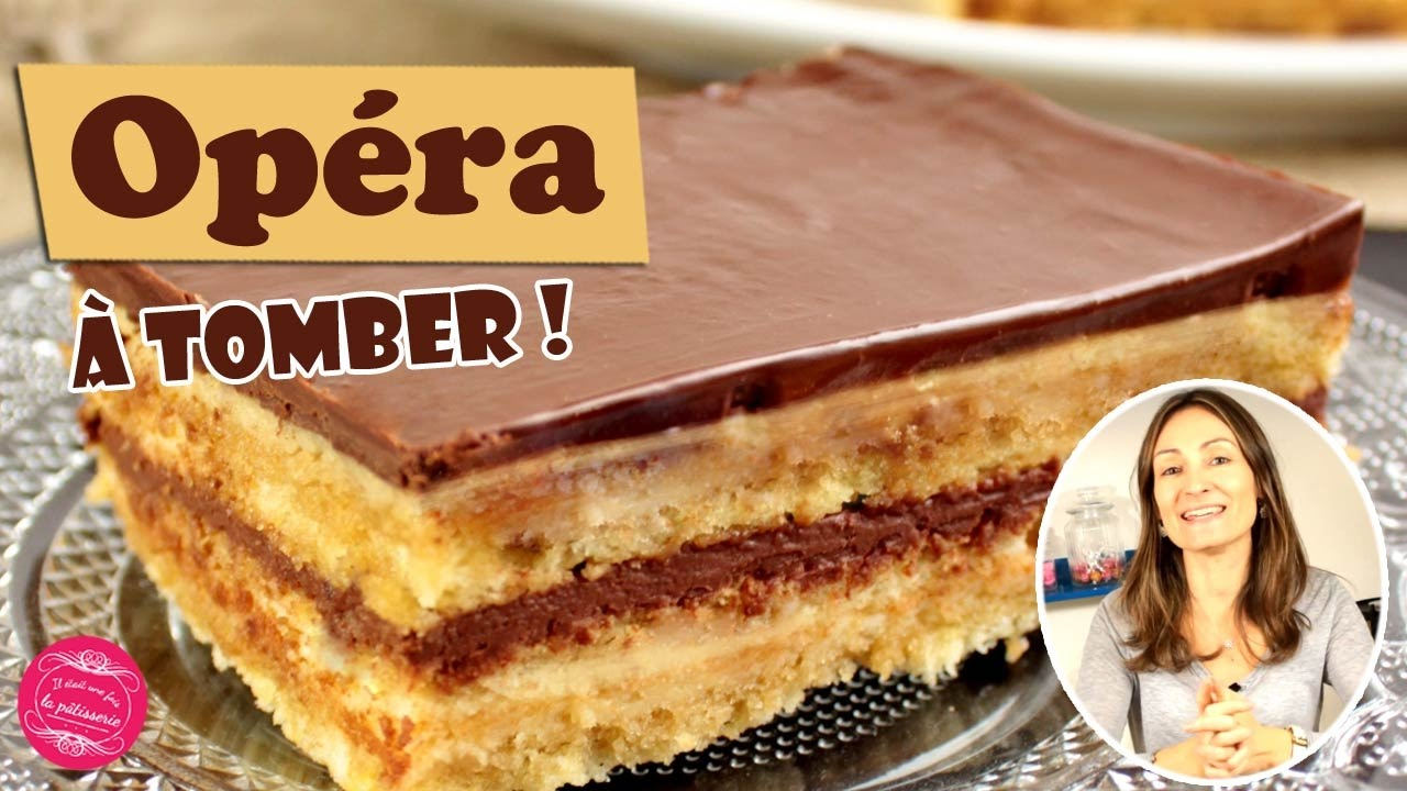 Idee Gateau Patissier Opera Chocolate And Coffee Cake The Easy Recipe Inratable And Delicious