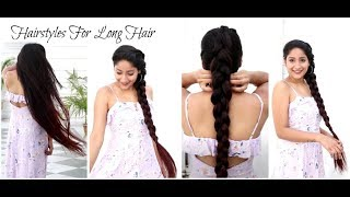 Easy Hairstyles for long hair | Quick hairdo
