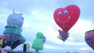 The 22nd Philippine International Hot Air Balloon Fiesta at Clark, Pampanga 2018