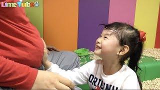 꼬마버스 타요 키즈카페 장난감 놀이 Tayo indoor playground family fun for kids 라임튜브