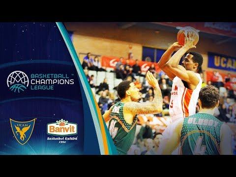 UCAM Murcia v Banvit - Full Game - Basketball Champions League 2018-19