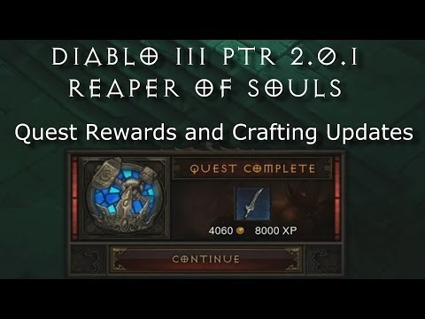 Full download diablo 3 reaper of souls removal of for Diablo 3 crafting items