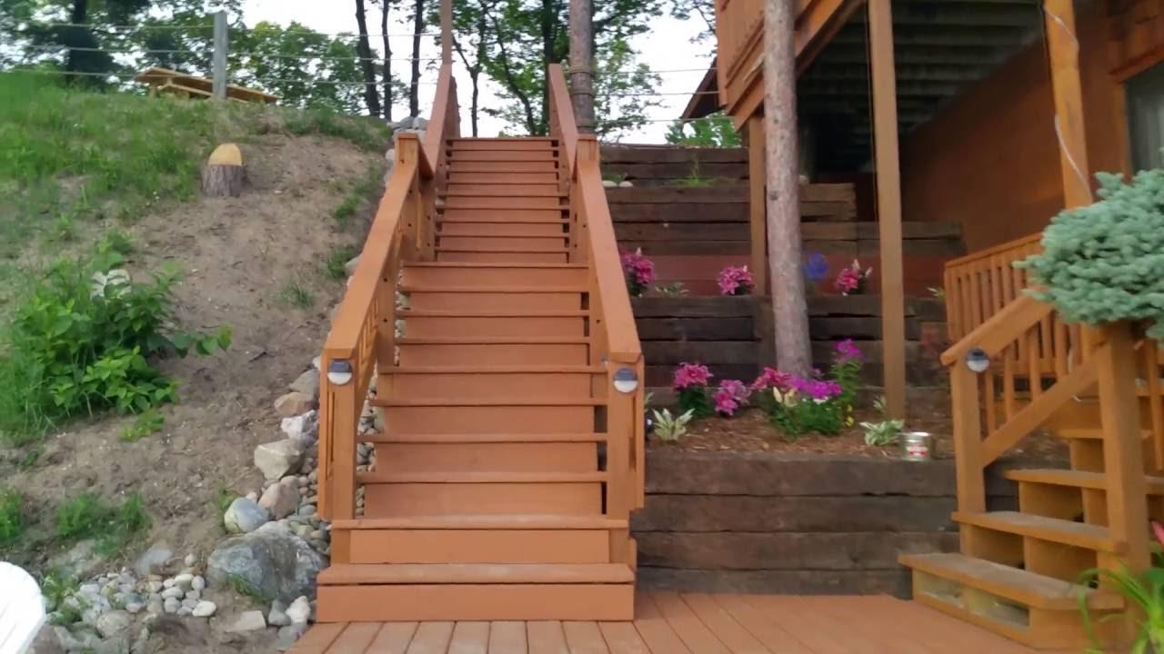 Lake cabins resort northern michigan youtube for Northern michigan cabin rental