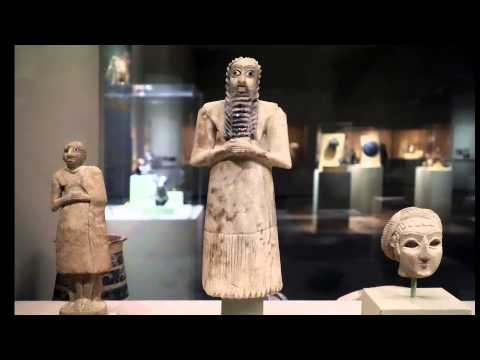 Standing Male Worshipper from Tell Asmar