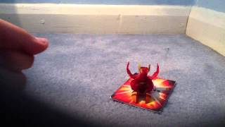 How to make a bakugan fly!!!!