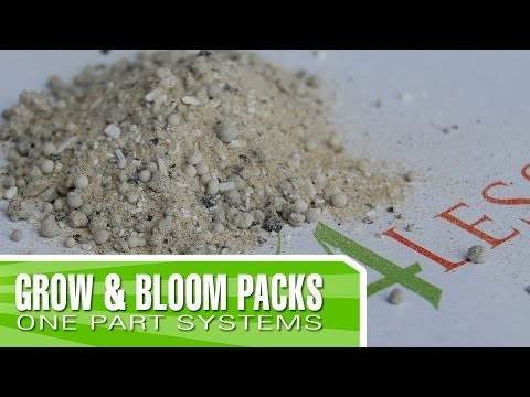 *Updated* Grow and Bloom Pack - Why and how to use them