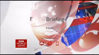 BBC World News - The Briefing - Countdown, Headlines, Intro (18/06/2018, 06:00 BST)