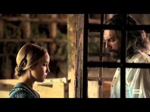 Naomi and Cullen HELL ON WHEELS Siobhan Williams & Anson Mount