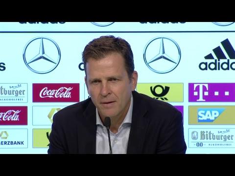 JETZT LIVE 🎥 Pressekonferenz mit Bundestrainer Joachim Löw und Oliver Bierhoff – klickt Euch rein 👇�