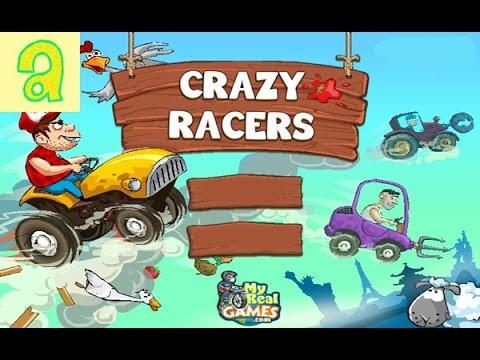 РАБОТАЕМ НА ТРАКТОРЕ! Детская игра онлайн! Tractor Mania  play the game
