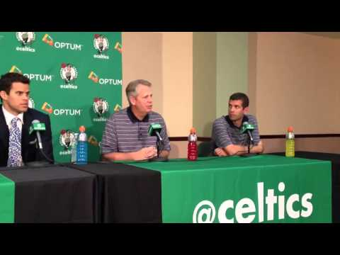 Danny Ainge Brooklyn Nets desperate for Kevin Garnett Paul Pierce