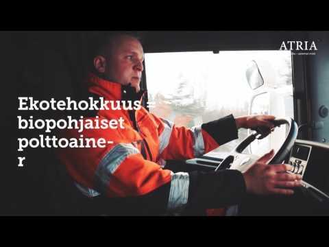 Atria Oyj: Kohti vähäpäästöisiä kuljetuksia