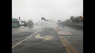 Powerful Hurricane Irma from the Florida Keys