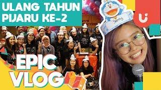 Video Pijaru Ulang Tahun Kedua di KFC - EPIC VLOG download MP3, 3GP, MP4, WEBM, AVI, FLV Oktober 2018