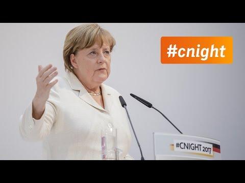 #cnight 2017: Die Rede von Angela Merkel