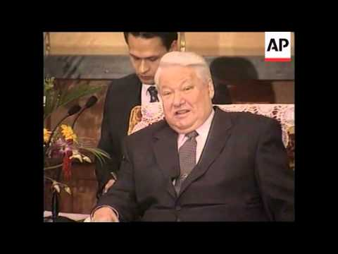 CHINA: YELTSIN LASHES OUT AT CLINTON OVER CHECHNYA