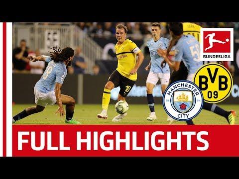 Manchester City vs Borussia Dortmund | 0-1 | Highlights 2018