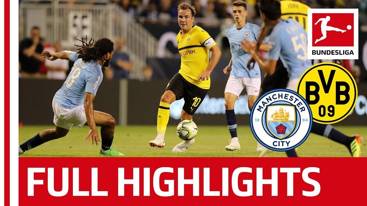 Manchester City vs Borussia Dortmund   0-1   Highlights ...