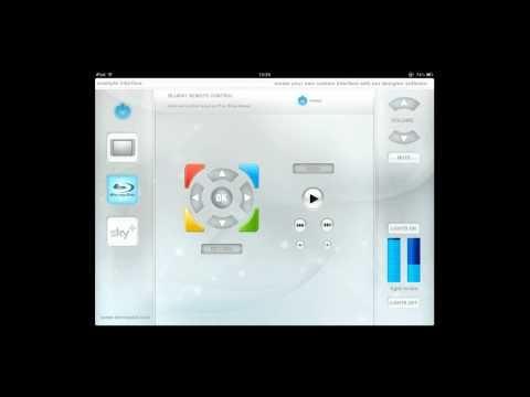 iPad Control Home Automation App from www.demopad.com free app