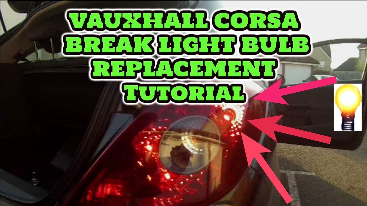 How To Replace An Opel Corsa D Bulb Youtube