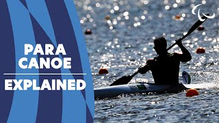 All about Para Canoe | Sport Explainer: Canoe | Paralympic Games