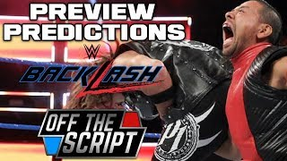DOES ANYONE CARE!?  WWE BACKLASH 2018 FULL SHOW PREVIEW & PRED…