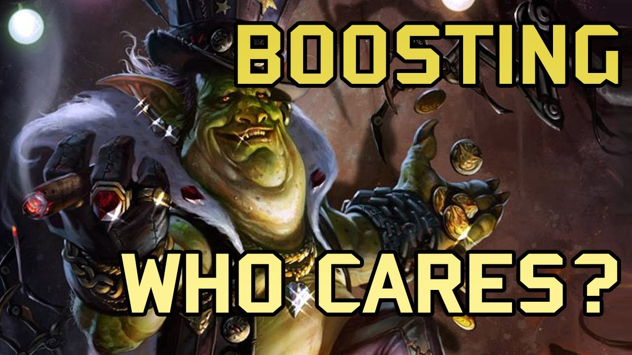 Download WoW Boosting - How BAD is it?
