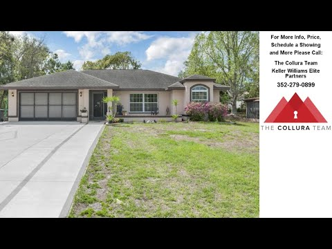 9480 Swiss Road, Spring Hill, Fl Presented By The Collura