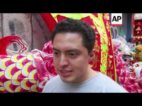 Mexico City celebrates Chinese New Year