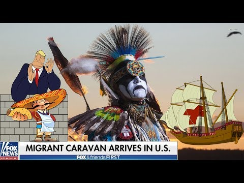 Migrant Caravan, Native American GENOCIDE & Thanksgiving | A Different Perspective 2018