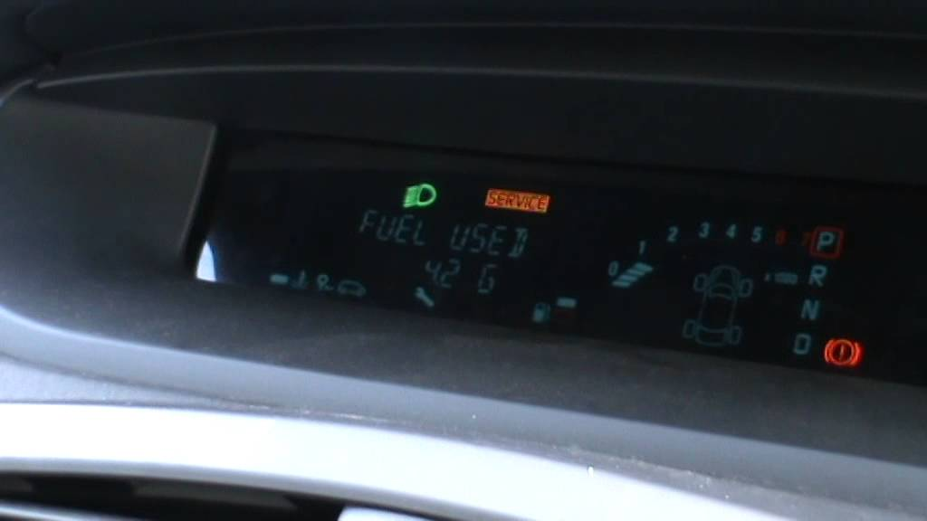 Renault Megane Scenic Service Message Reset Youtube