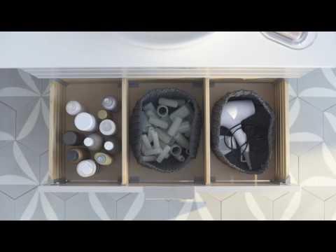 Ikea Badkamer Ikea : Ikea idee orde als kunstvorm opbergen in de badkamer