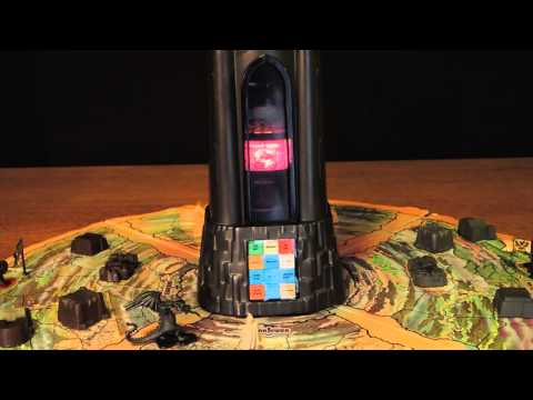 how to play dark tower vintage board game 1981 mini review youtube. Black Bedroom Furniture Sets. Home Design Ideas