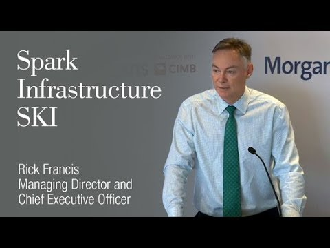 Spark Infrastructure (ASX:SKI): Rick Francis, Managing Director and Chief Executive Officer
