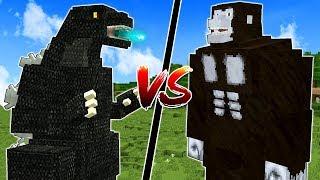 GODZILLA vs KING KONG IN MINECRAFT?!