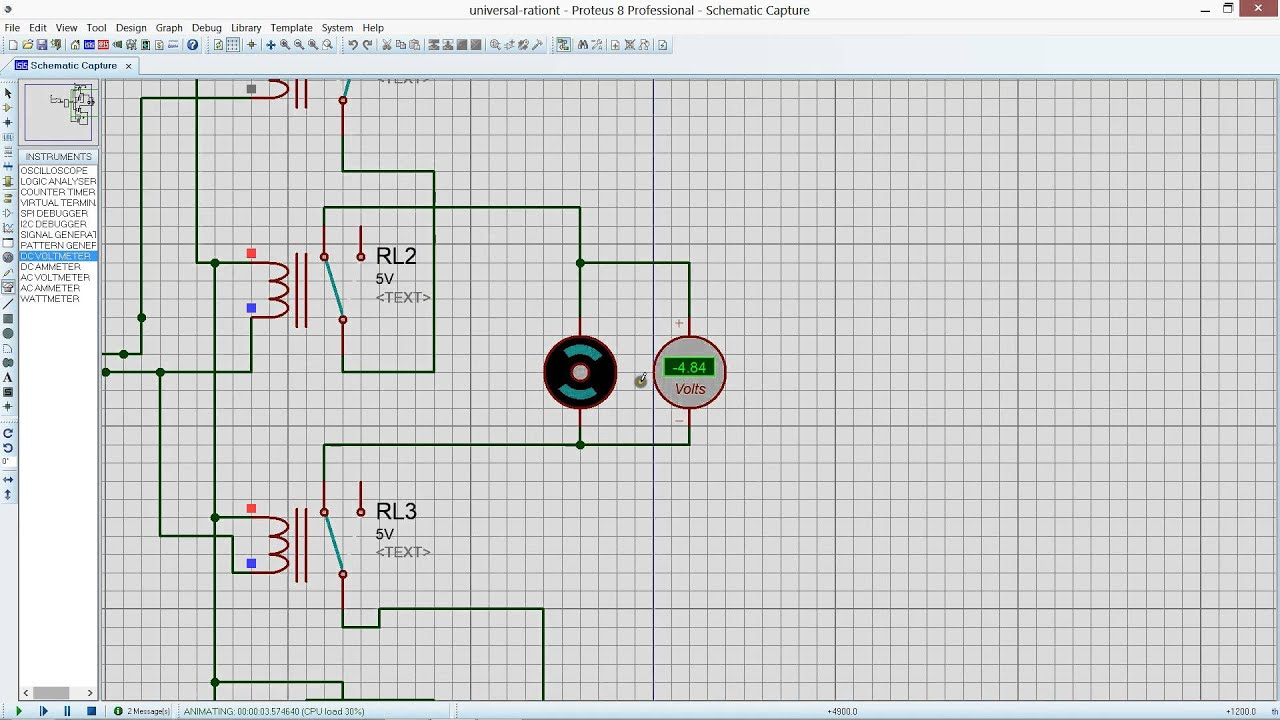 H Bridge Based Dc Motor Direction Control Using Relay
