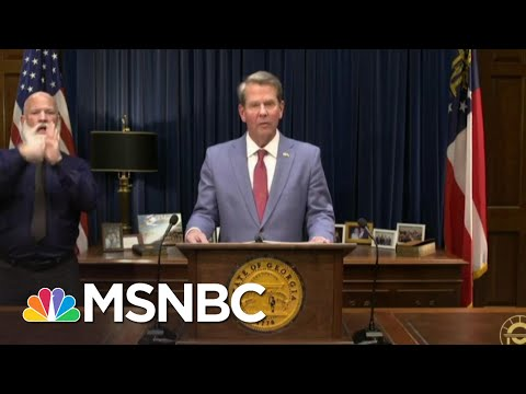 Georgia's Voting Bill Makes Water An Illegal Substance | The 11th Hour | MSNBC