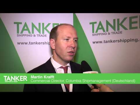 Martin Krafft, Commercial Director, Columbia Shipmanagment speaks to Tanker Shipping & Trade