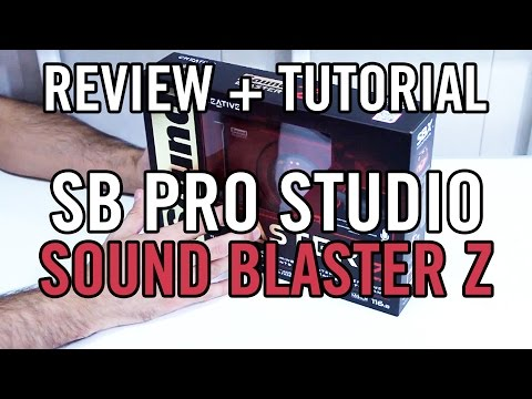 Creative Sound Blaster Z Review Full Español