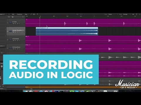 Recording Audio in Logic Pro X (Everything You Need to Know)