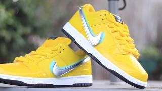 $3000 Canary Diamond Dunk Nike SB