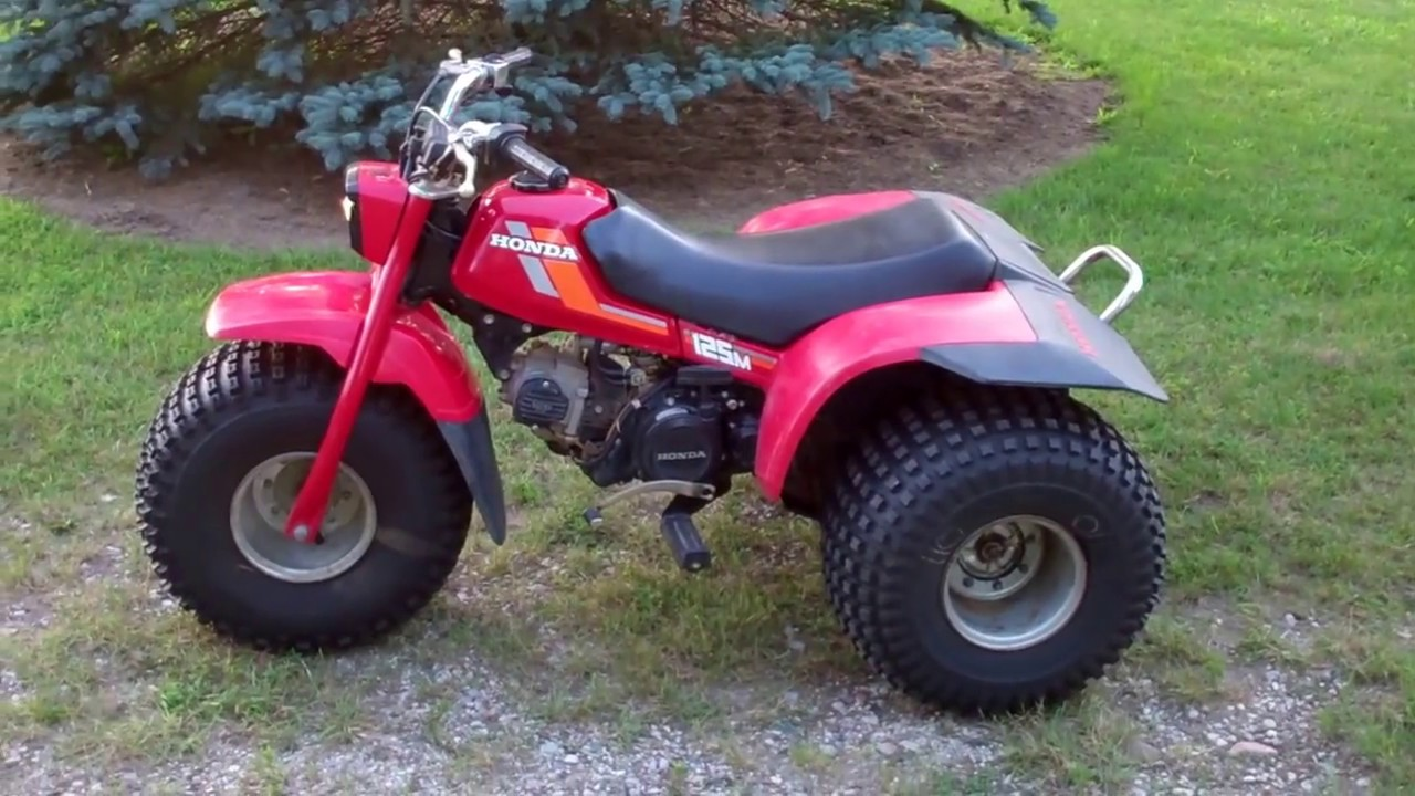 1984 Honda 125M 3 Wheeler (ATC) - YouTube