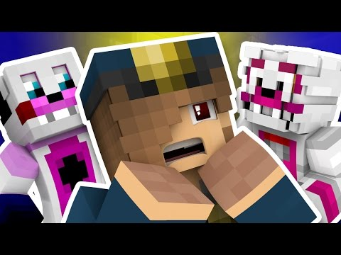 Minecraft Fnaf: Sister Location - The Security Guards Terrible Fate (Minecraft Roleplay)