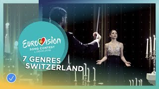 ZiBBZ - Stones in 7 genres - Switzerland - Eurovision 2018